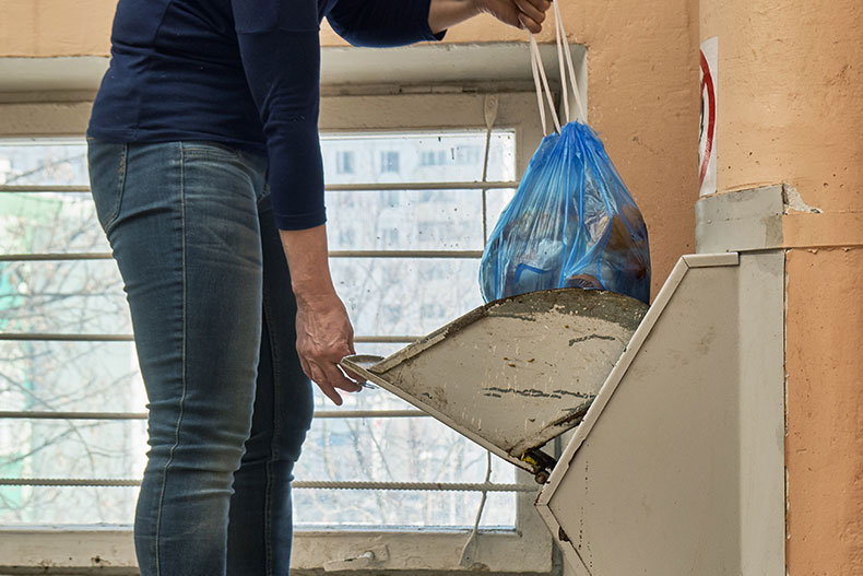 GARBAGE CHUTES ARE MUST IN APARTMENTS